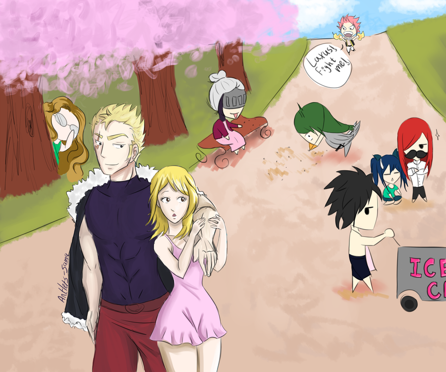 Natsu Dating Tail Lucy Fairy Fanfiction And