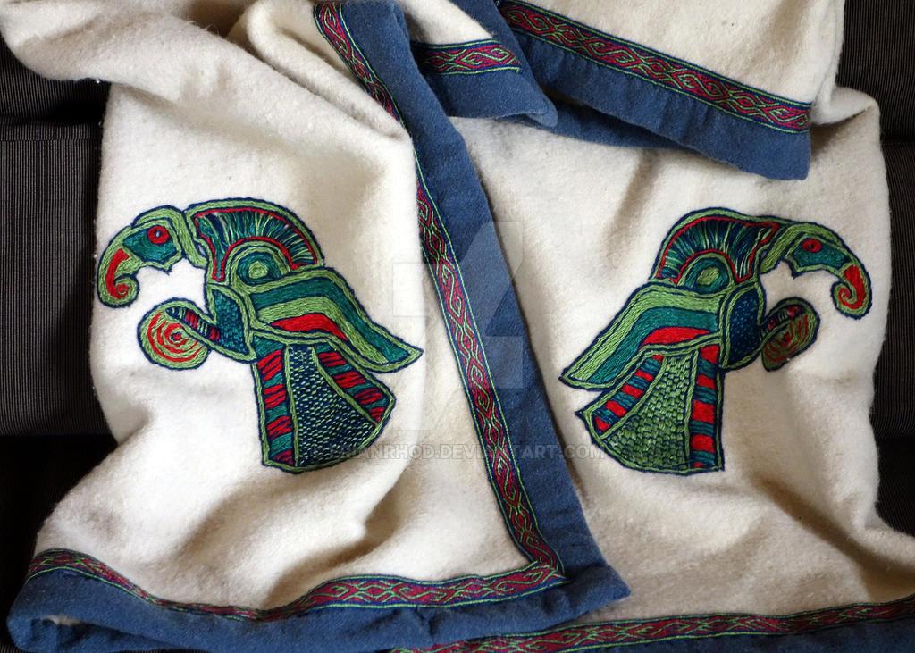 Viking Age FeldR Cloak by Erianrhod