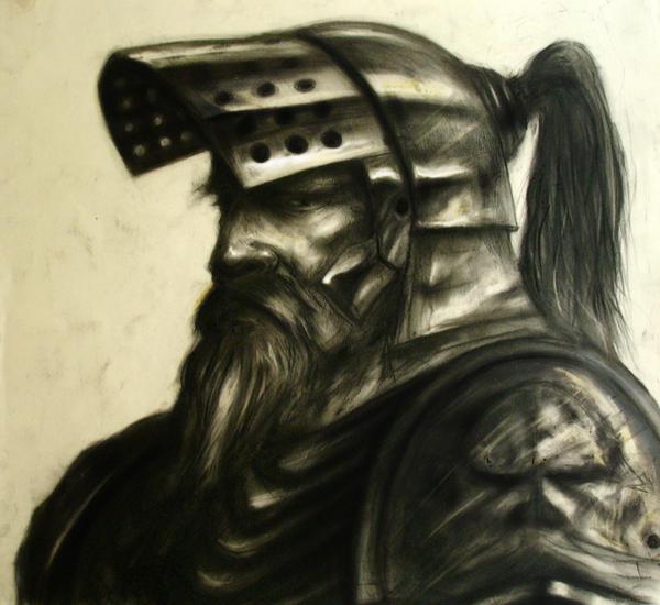 Дом Хоар Warrior_sketch_by_remzisan