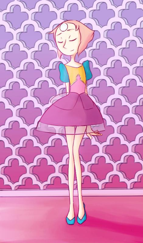 Después de ver el nuevo episodio, me dieron muchas ganas de dibujar a perla en su nuevo outfit. Y si perla era una de mis personajes favoritos, ahora lo es aún más al ver por todo lo...
