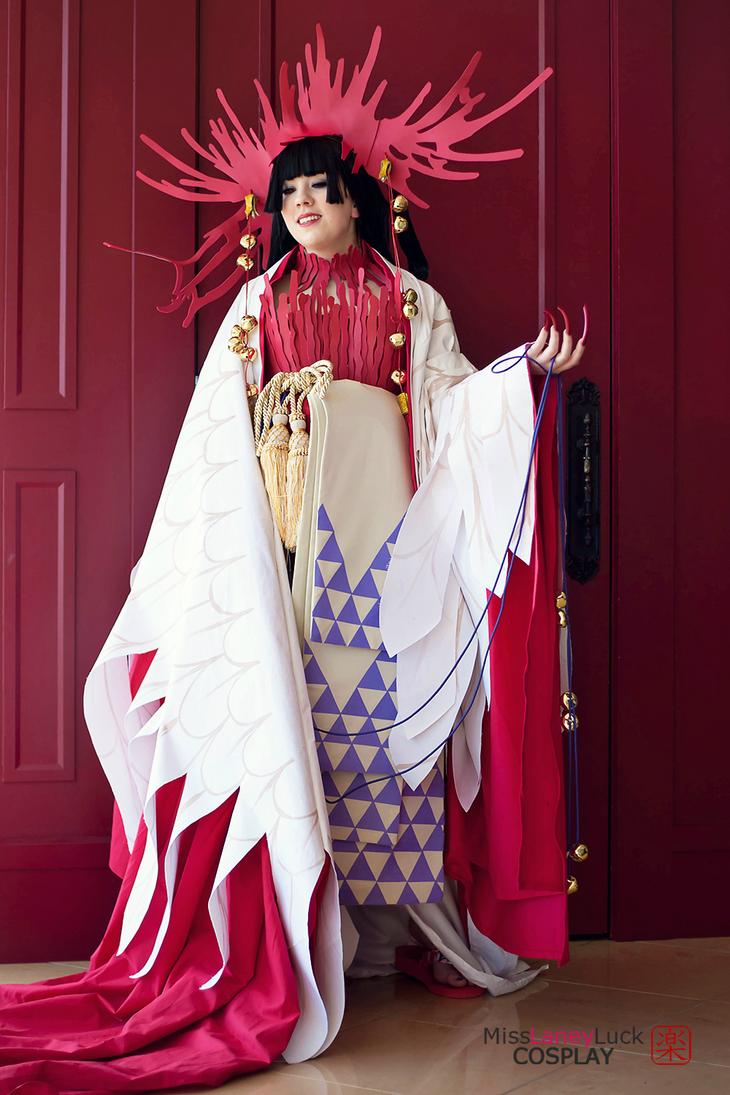 Yuuko Ichihara (Crane/ Hawk version) by MissLaneyLuck