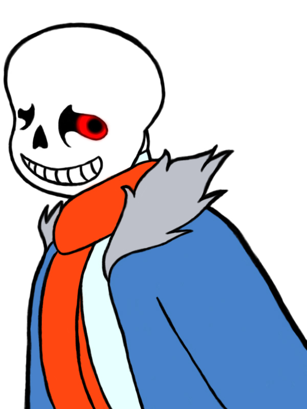 Better drawn Sans by maniac-fangirl