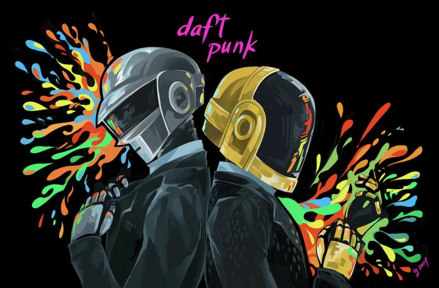 Daft Punk Desktop by vythefirst