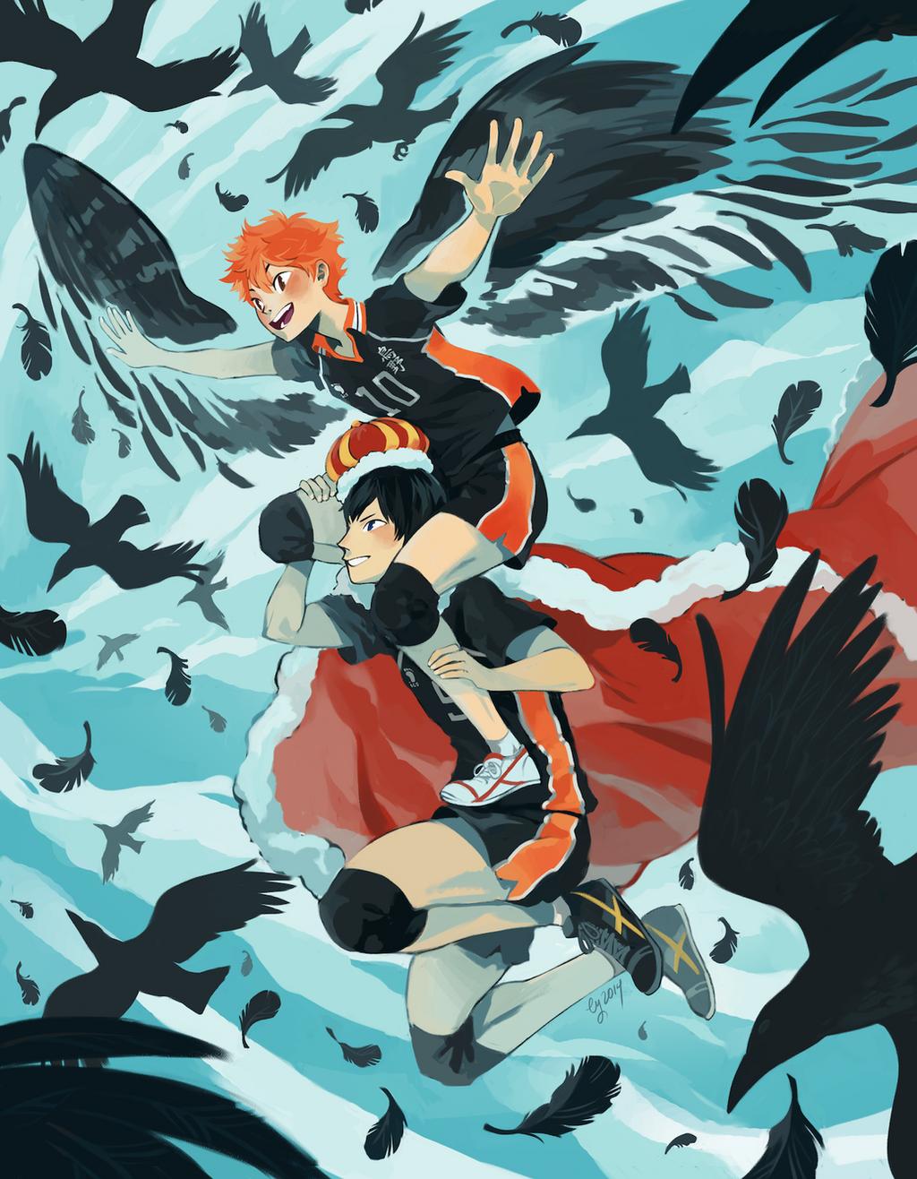 Murder of Crows - HAIKYUU!! by vythefirst