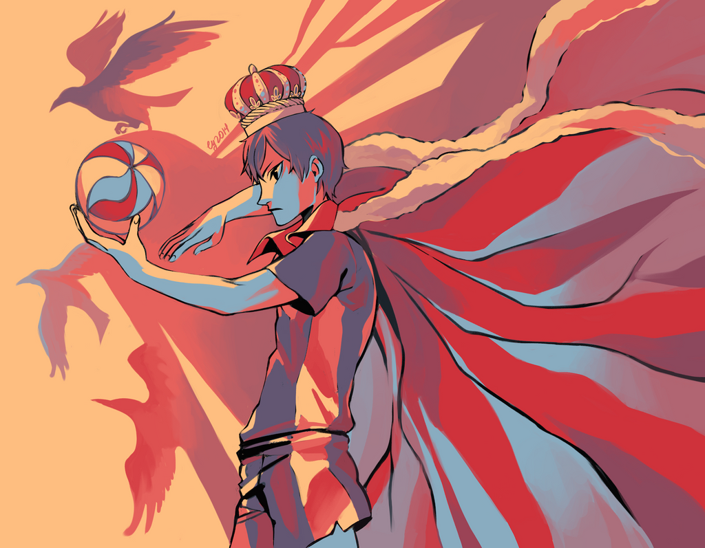 King of the Court - HAIKYUU!! by vythefirst