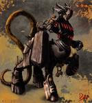 mechanical centaur