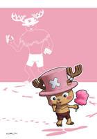 One Piece : Tony Tony Chopper by zedew