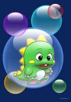 Bubble Bobble : Bub by zedew