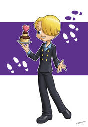One Piece : Sanji by zedew
