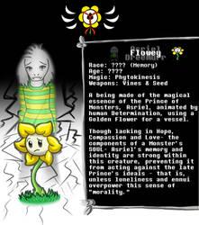 U.O.E. Character Profiles #3: Flowey by Nenilein