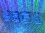Glassy Sega Wallpaper