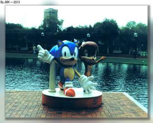 Sonic And Sally (Sega World) by JohnK222