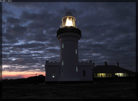 Point Perpendicular Lighthouse - Night