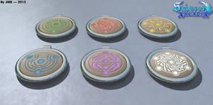 Moon Crest Pendants 1