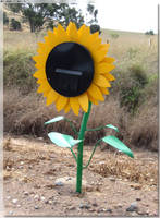 Sunflower Mail Box by JohnK222