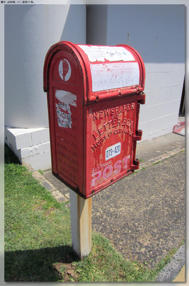 Cape Byron Post Box by JohnK222