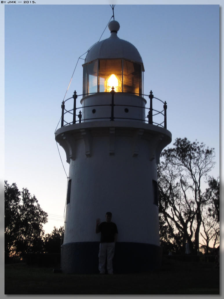 Me By The Richmond River Lighthouse by JohnK222