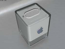 Power Mac G4 Cube by JohnK222