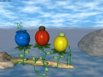 Balloon Flower by JohnK222
