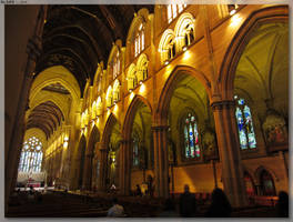 St Mary's Cathedral - Inside 1 by JohnK222