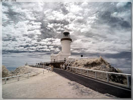 Cape Byron Lighthouse - InfraRed View