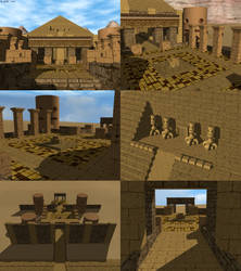 Temple Of Pyrynn - 6 Views by JohnK222