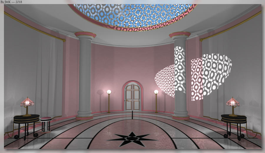 Pink Foyer by JohnK222