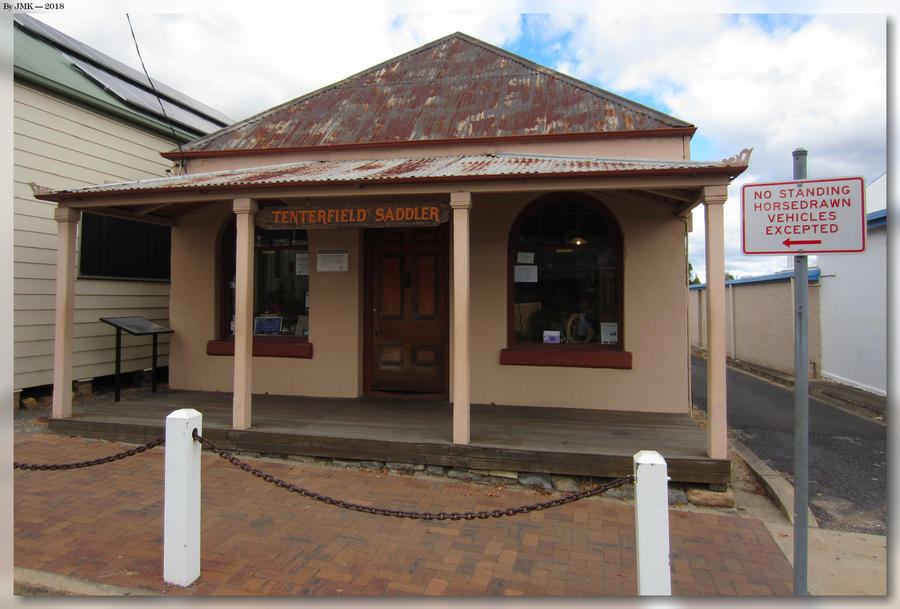 Tenterfield Saddler by JohnK222