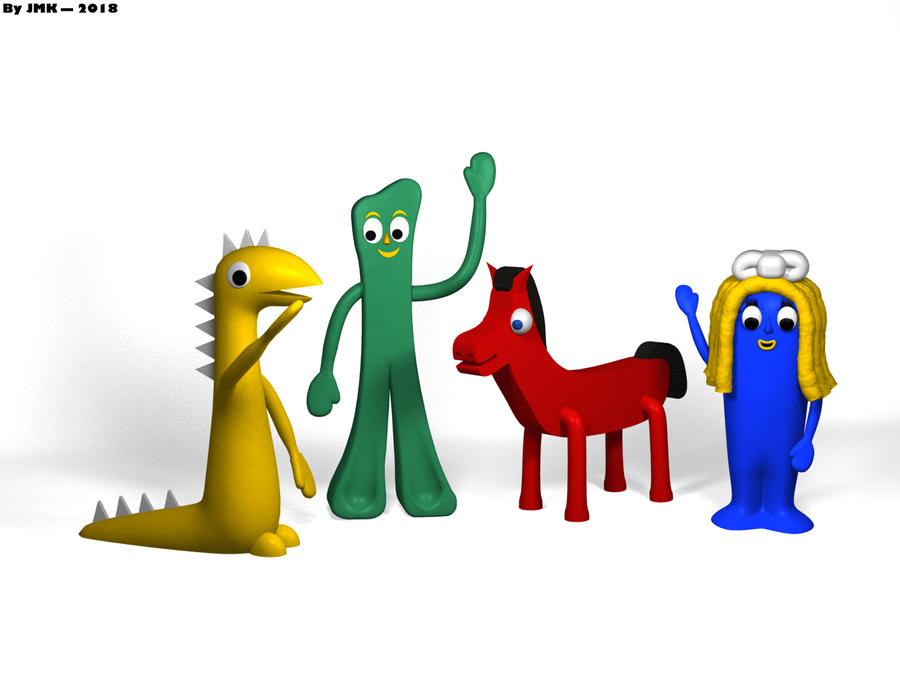 Gumby + Friends! by JohnK222