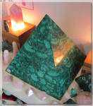Malachite Pyramid by JohnK222