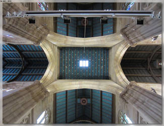 St Andrew's Cathedral - Ceiling by JohnK222