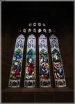 St Andrew's Cathedral Window 2 by JohnK222