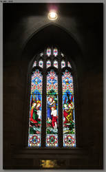 St Andrew's Cathedral Window 3 by JohnK222