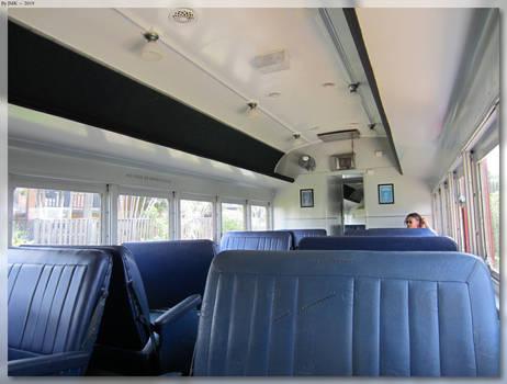 Byron Bay Solar Powered Train (Inside)
