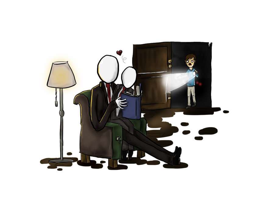 SLENDER: Slenderman, what are you doing.. by officialbartoke