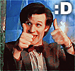 The 11th Doctor Thumbs Up by razerblade-10