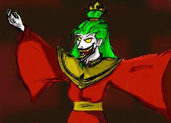 Fire Lord Joker by Mad-Hatter-LCarol