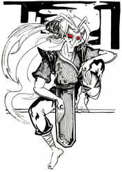 ni tang, demon of polar night by Mad-Hatter-LCarol