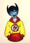 YJ: Klarion's New Coat by Mad-Hatter-LCarol