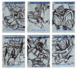 Transformers Movie sketchcards