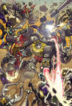 Dinobots vs Insecticons