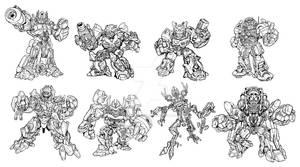 Movie Robot Heroes concept art