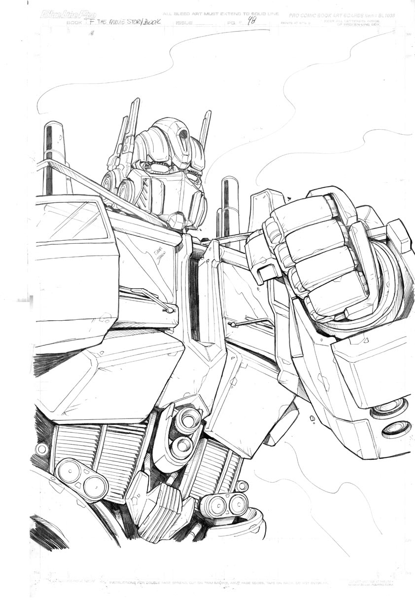 [Pro Art et Fan Art] Artistes à découvrir: Séries Animé Transformers, Films Transformers et non TF TFMovie_Storybook_pencil_10_by_mmatere