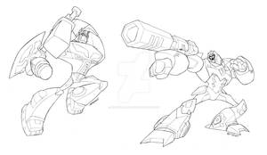 Animated Prime vs Megatron
