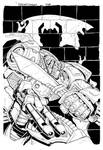 Grimlock cover inks