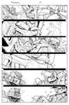 Grimlock page 15 inks