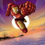 Iron Man book page 4