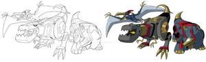 TF Animated Dinobots