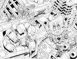 Metroplex cover inks