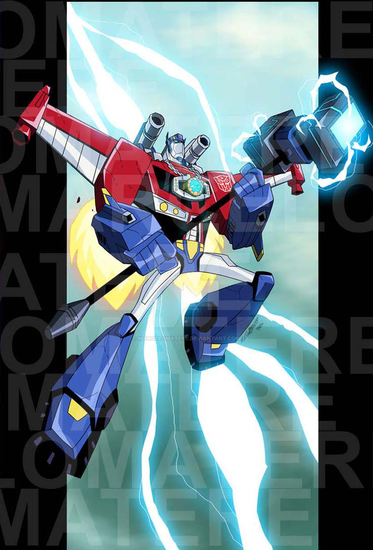 Botcon Print Autobots by MarceloMatere